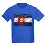 Colorado springs Kids T-shirts (Dark)