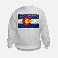Colorado retro wash flag Jumpers