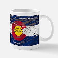 Colorado Retro Wash Flag Mug Mugs