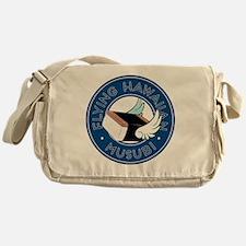 Flying Hawaiian Musubi Pillow Messenger Bag