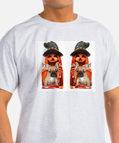 Halloween French Bulldogs T-Shirt