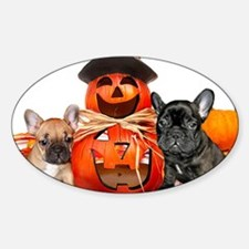 Halloween French Bulldogs Decal