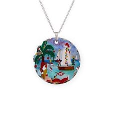 Christmas Boat Parade Necklace