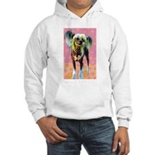 Seeing Spots Chinese Crested Hoodie