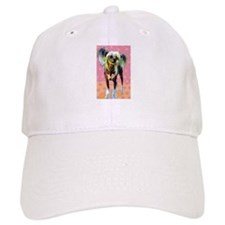 Seeing Spots Chinese Crested Baseball Cap