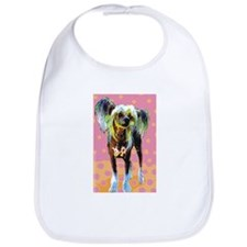 Seeing Spots Chinese Crested Bib