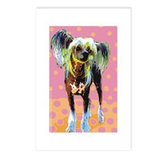 Seeing Spots Chinese Crested Postcards (Package of
