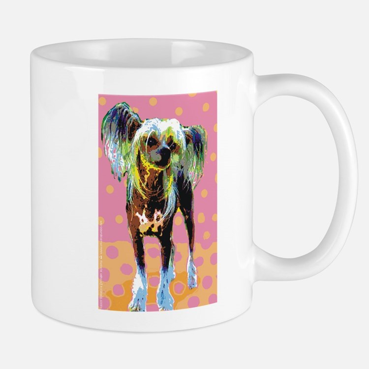 Seeing Spots Chinese Crested Mug