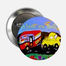 """Vintage Camper and Truck 2.25"""" Button"""