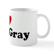 I Love Efren Gray Small Mug