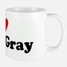 I Love Efren Gray Small Small Mug