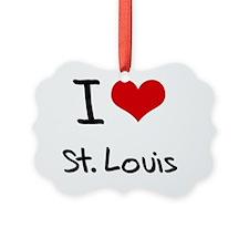 I Heart ST. LOUIS Ornament
