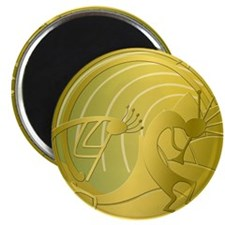 Golden Path Kokopelli Queen Duvet Magnet