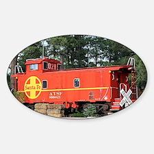 Santa Fe Railway Train Caboose, Wil Decal