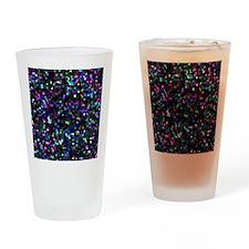 Mosaic Glitter Drinking Glass