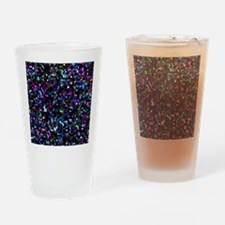 Mosaic Glitter Drinking Glass