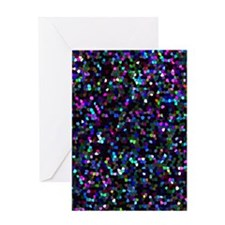 Mosaic Glitter Greeting Card