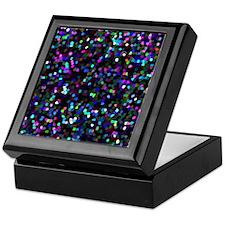 Mosaic Glitter Keepsake Box