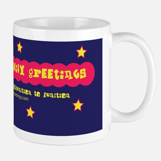 Dysfunctional Family Greetings Logo Mug