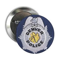 Denver Police Button