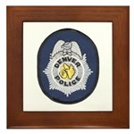 Denver Police Framed Tile