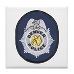 Denver Police Tile Coaster