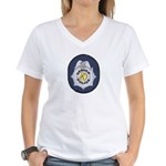 Denver Police Women's V-Neck T-Shirt