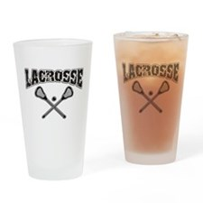Lacrosse Drinking Glass