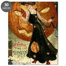 Victorian Halloween Puzzle