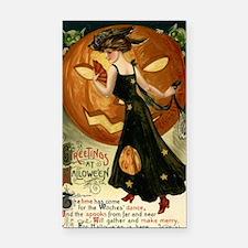 Victorian Halloween Rectangle Car Magnet