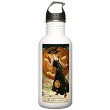 Victorian Halloween Sports Water Bottle