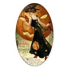 Victorian Halloween Decal