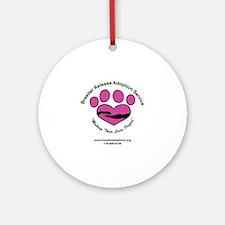 Breeder Release Adoption Service Round Ornament