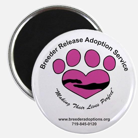 Breeder Release Adoption Service Magnet