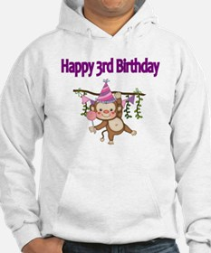 HAPPY 3rd  BIRTHDAY WITH CUTE MO Hoodie