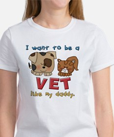 I WANT TO BE A VET LIKE MY DADDY Tee