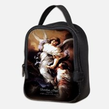 Guardian Angel Angele Dei Neoprene Lunch Bag