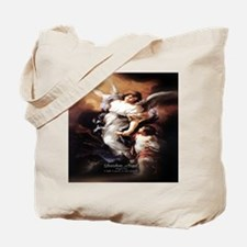 Guardian Angel Angele Dei Tote Bag
