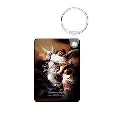 Guardian Angel Angele Dei Keychains
