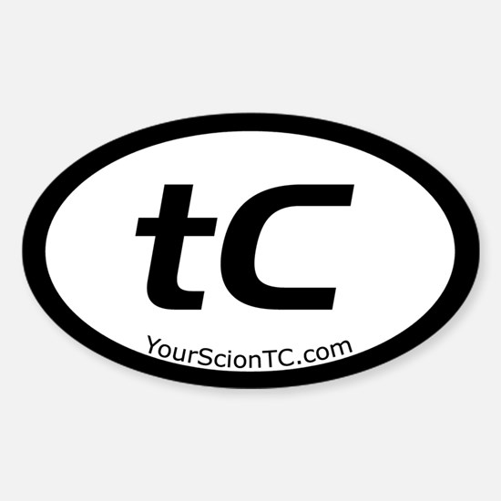 tC Oval Oval Decal