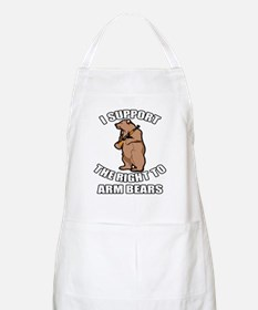 I Support The Right To Arm Bears Apron