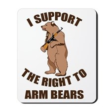 I Support The Right To Arm Bears Mousepad