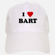 I Love BART Baseball Baseball Cap