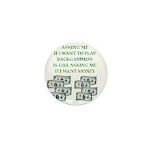 backgammon Mini Button