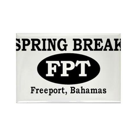Freeport, Bahamas Rectangle Magnet