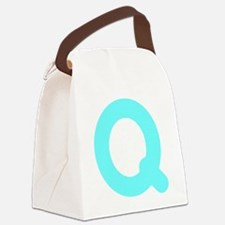 pome_word_q Canvas Lunch Bag