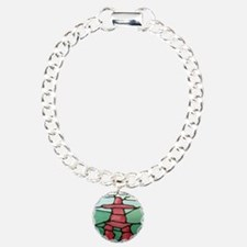 Inukshuk Charm Bracelet, One Charm
