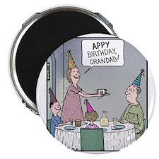 APPY Birthday, Grandad Magnet
