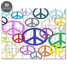Peace Sign Collage BB Puzzle