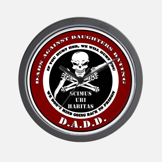 Dads Against Daughters Dating Wall Clock